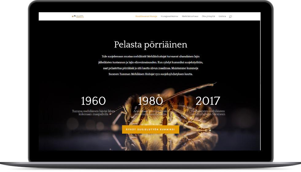 Uudet verkkosivut